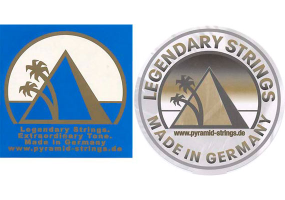 Pyramid Legendary Strings Sticker (1999)