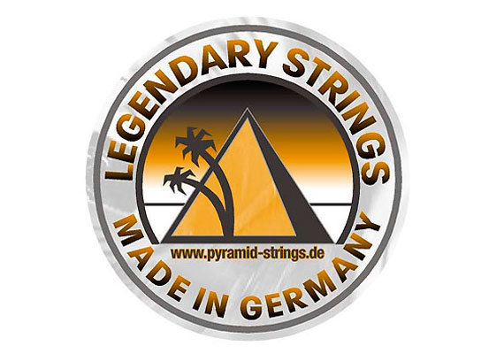 Pyramid Legendary Strings Sticker (2003)