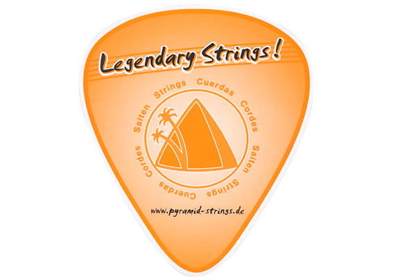 Pyramid Legendary Strings Sticker (2008)