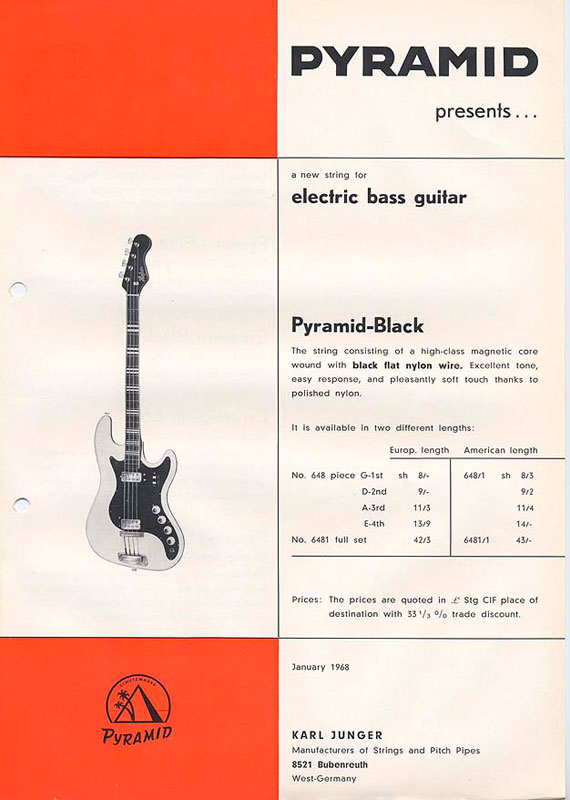 E-Bass Black Nylon (1968)