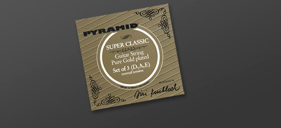 Guitar String Pure Gold Classic