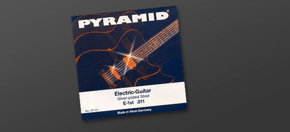 Electric Guitar Strings Flatwound
