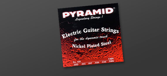 Electric Guitar Strings Nickel Plated Steel