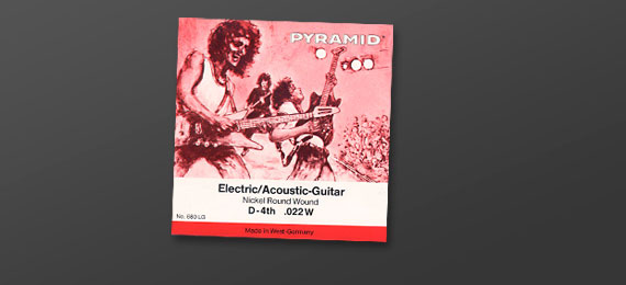 Electric Guitar Strings Roundwound (1983)