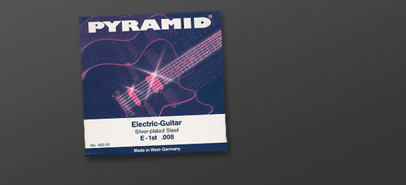 Electric Guitar Strings Roundwound (1986)